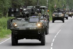 На границе с Россией стартовали учения НАТО