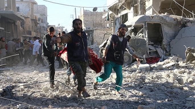 US-led airstrikes near Raqqa killed at least 84 civilians, report says