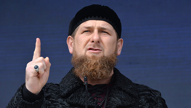 Kadırov Poroşenkoya cavab verdi: Qorxu...