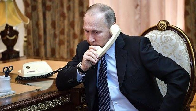 Путин позвонил в Армению