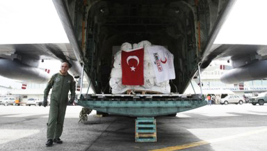 Turkey sent aid to 5 countries