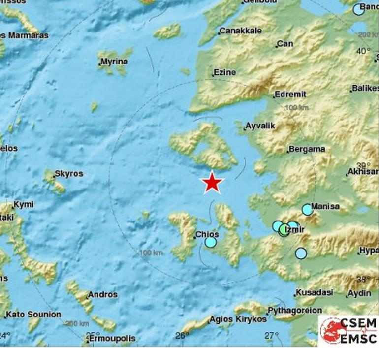تورکییه ساحللرینده گوجلو زلزله
