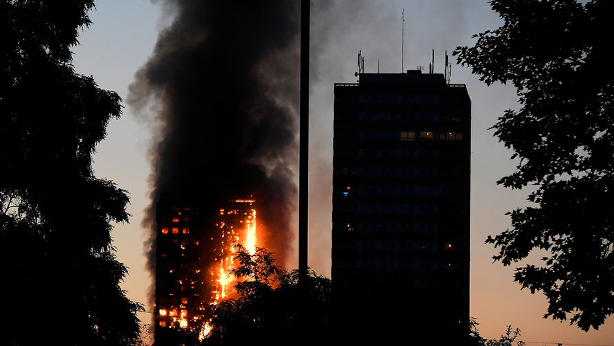 80 погибших - пожар в жилой башне в Лондоне