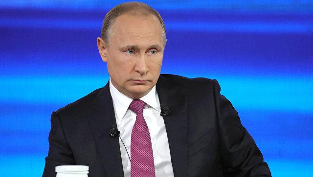 Хакеры атаковали «прямую линию» с Путиным