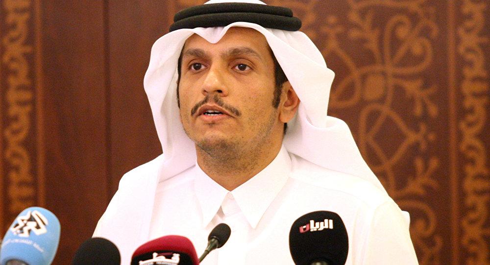 Qatari FM blames Saudi bloc for regional chaos