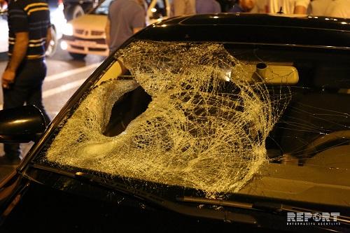 Avtomobil qadını vurub öldürdü, körpəsini isə yaraladı