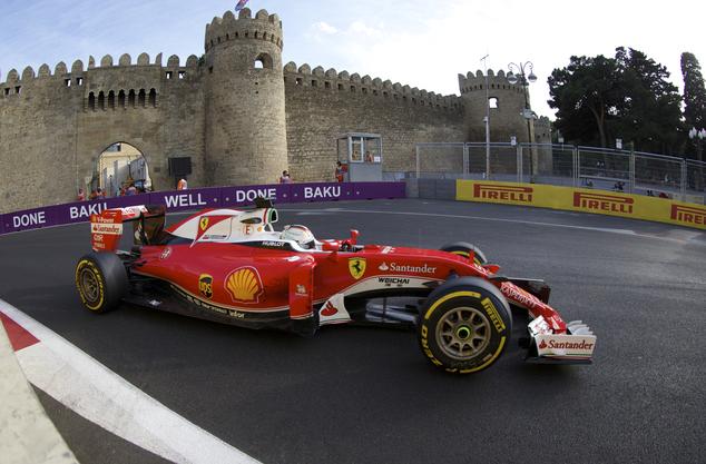Феррари привезет в Баку обновленный двигатель
