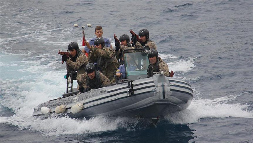 Моряки прошли подготовку по десантированию в Турции - Фото