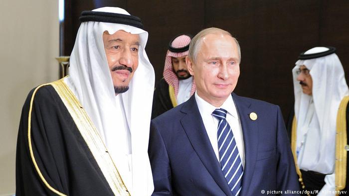 پوتین عربیستان کرالینی قارشیلاماغا حاضیرلاشیر