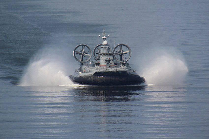Российские корабли замечены у латвийской границы