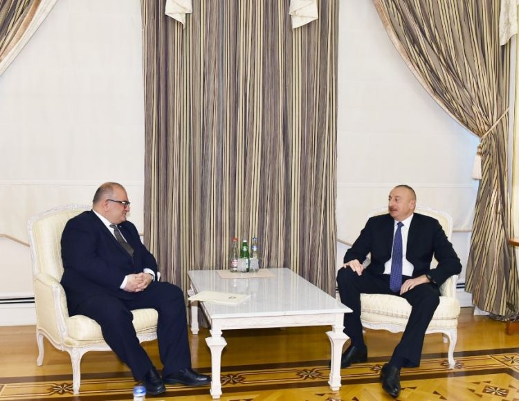 President receives Georgian Deputy Prime Minister