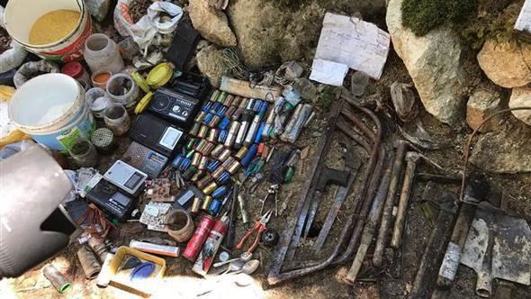 PKK-çılara aid mağara partladıldı