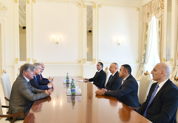 President met with Fransua Mansell