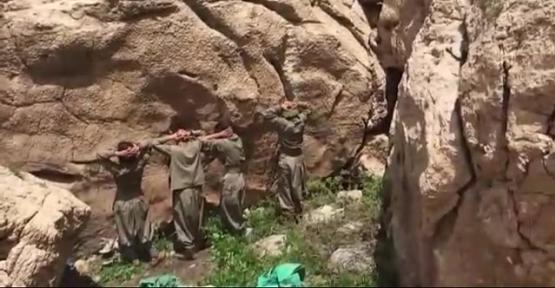 Türk zabit PKK-çıları bu cür inandırdı - Video