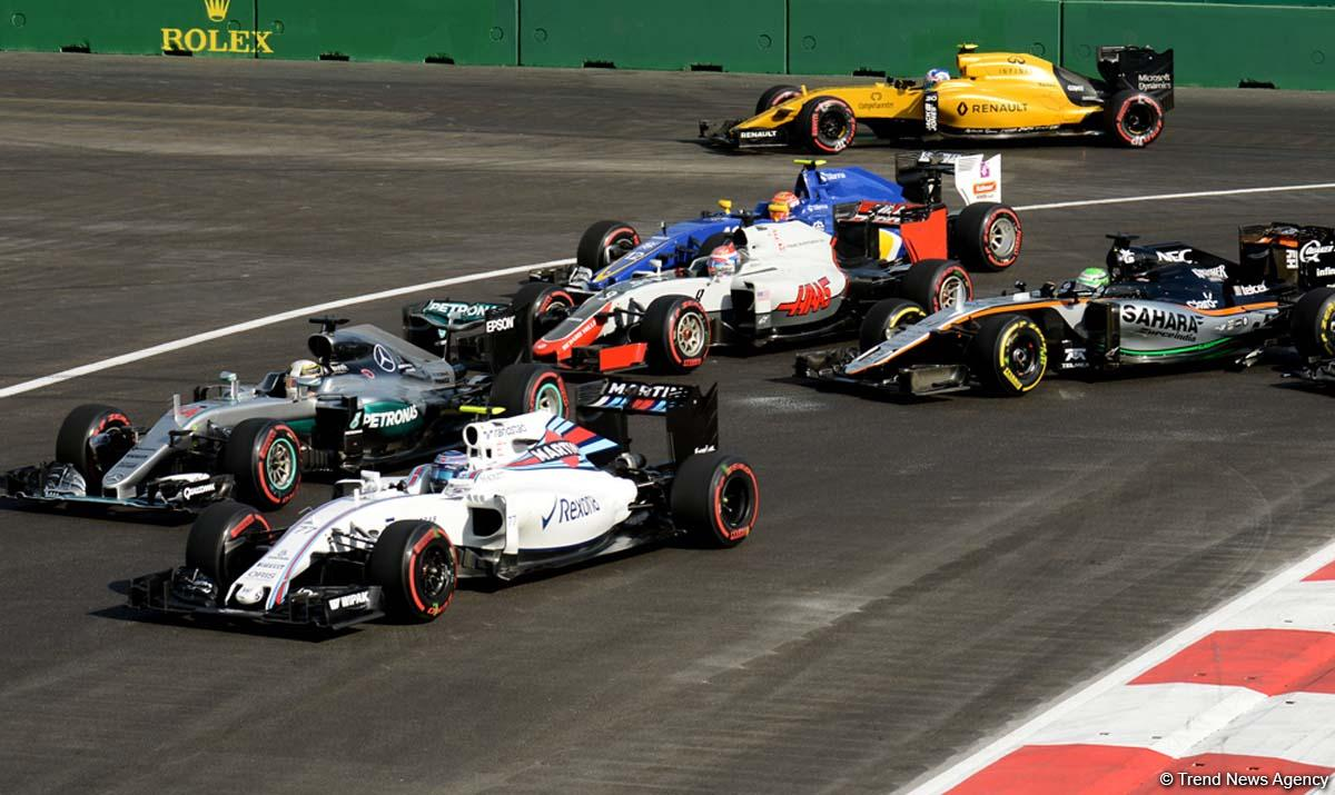 6 TV channels to cover Formula 1 Azerbaijan Grand Prix