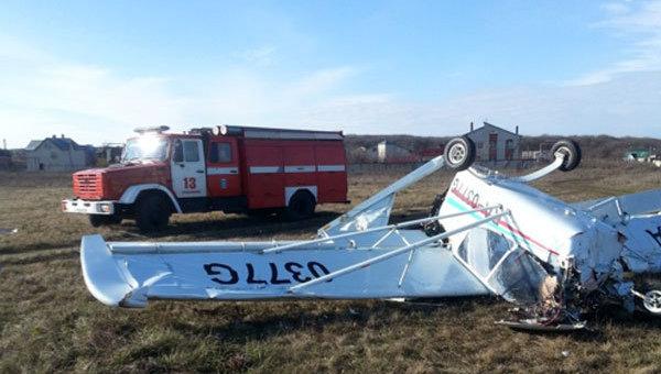 Под Ставрополем потерпел крушение самолет