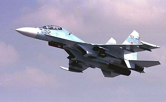 В Белоруссию прибыли два российских Су-30СМ