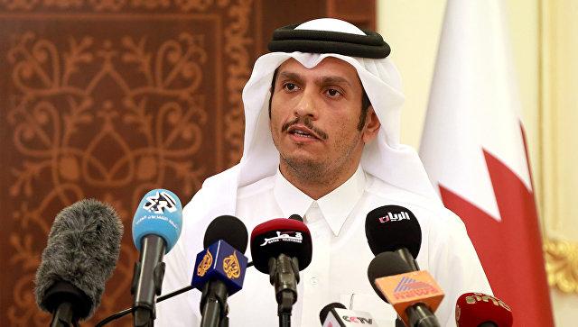 Глава МИД Катара едет в Вашингтон
