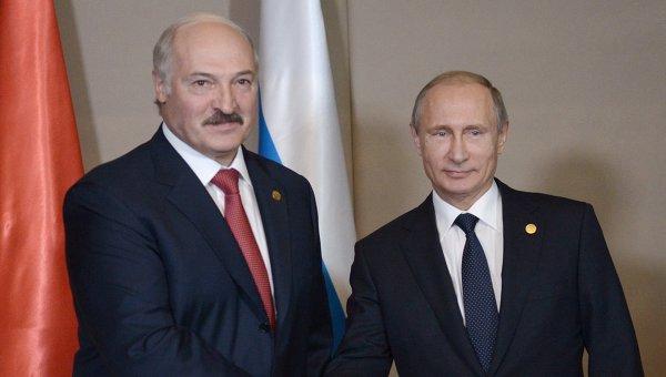 Путин встретится с Лукашенко