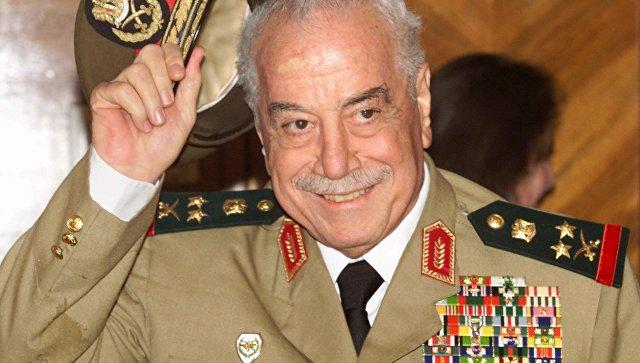 Скончался бывший глава Минобороны Сирии
