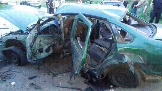 В Украине снова взорвали машину с СБУшниками