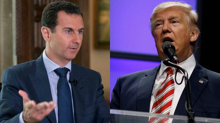 اسد و ترامپ دانیشاجاقمیش: پلانی کیم پوزوب؟
