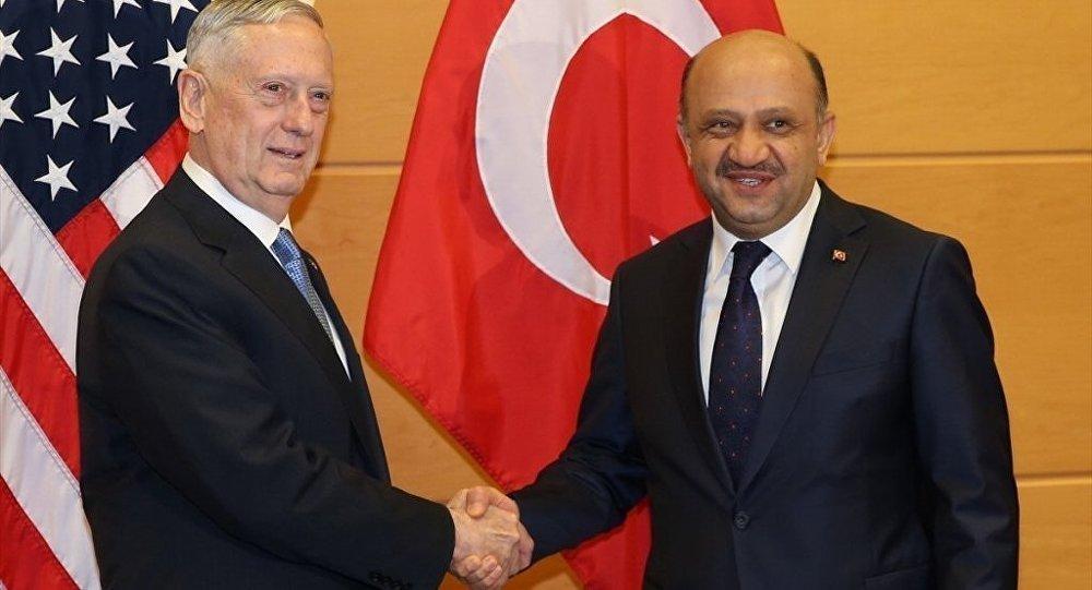 Mattis to visit Turkey