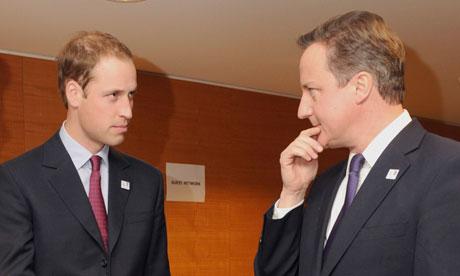 Принц Уильям и Кэмерон замешаны в скандале с ФИФА