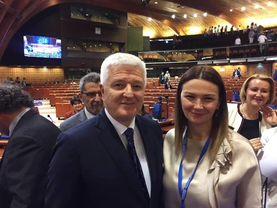 Paşayeva Markoviçlə görüşdü - Foto