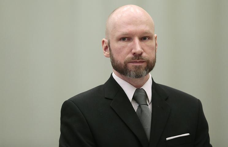Брейвик пожаловался на норвежское государство в ЕСПЧ