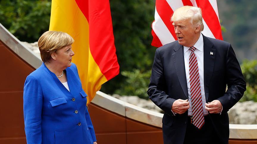 Меркель прибыла в Вашингтон для встречи с Трампом