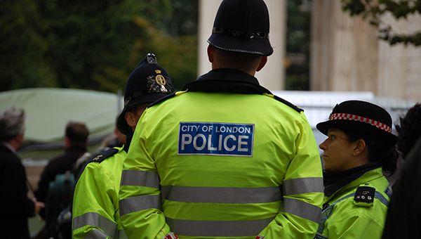 В Лондоне началась акция в защиту афроамериканцев