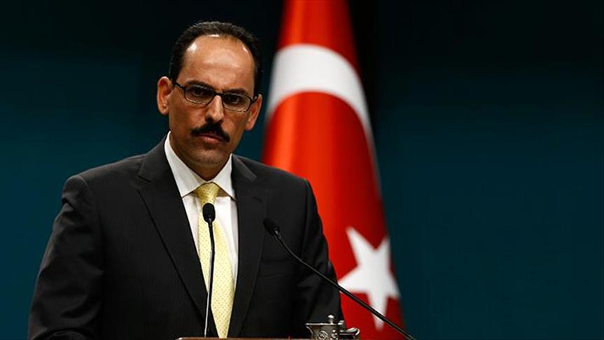 Turkey: Presidential aide condemns 'Jewish state' law