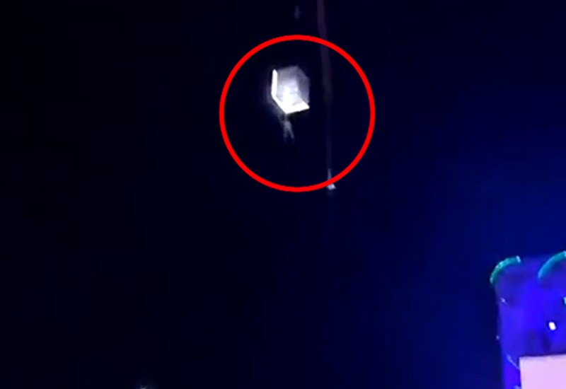 Aerialist falls during circus performance -