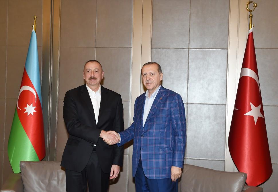 Ильхам Алиев направил письмо Эрдогану