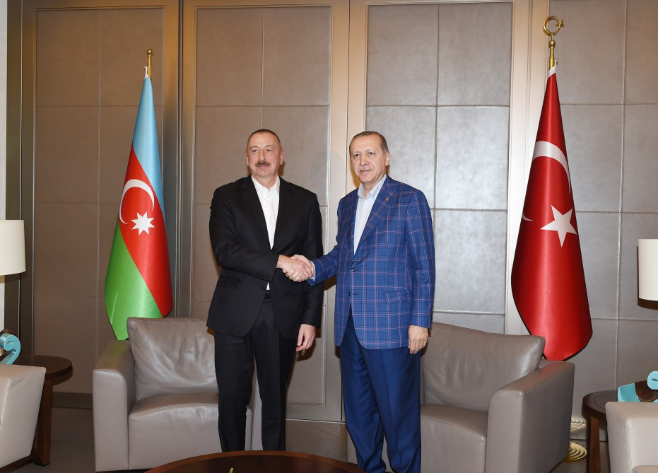 Ilham Aliyev gave his condolences to Erdogan