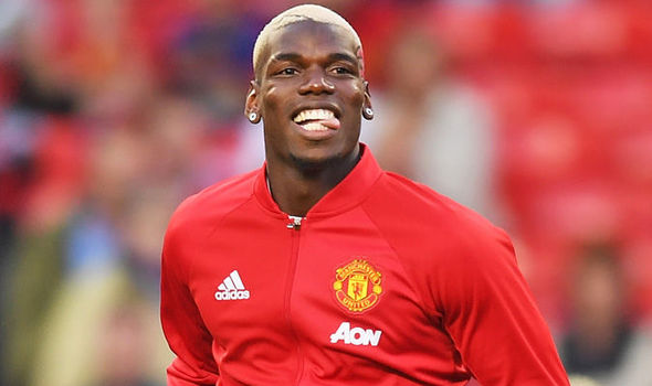 Paul Pogba gets a boost from Manchester United