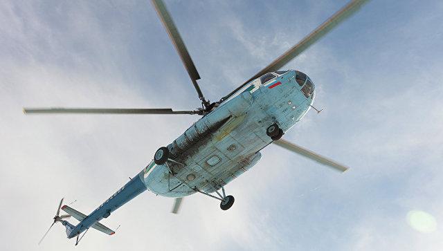В Украине вертолет совершил жесткую посадку