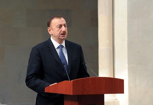 Ilham Aliyev has signed a decree