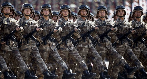 China has increased defense spending