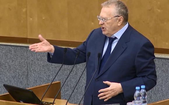 Жириновский хочет взыскать с ЕС €1 трлн