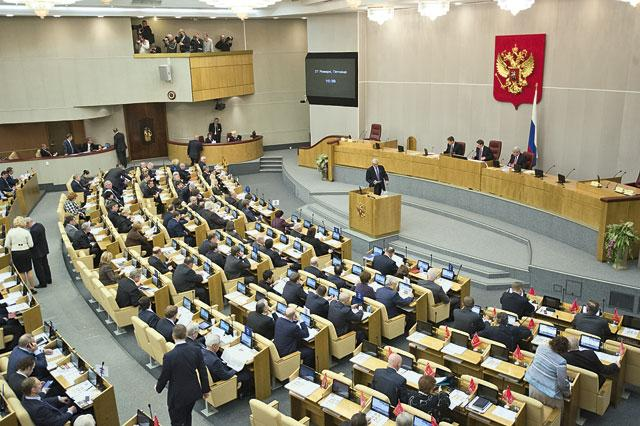 10 MPs of the ruling party opposed Putin's proposal