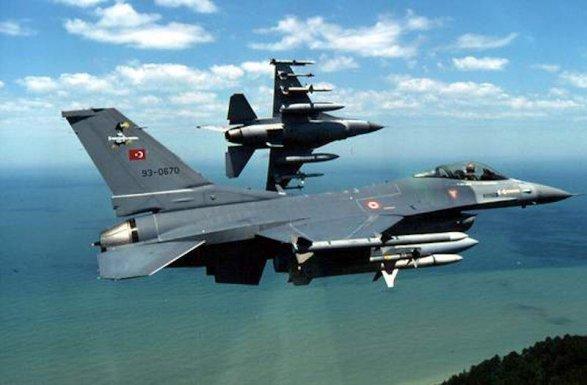 تورک اف-۱۶-لاری یونان پیلوتلارا دهشت یاشاتدی – شوک ویدئو
