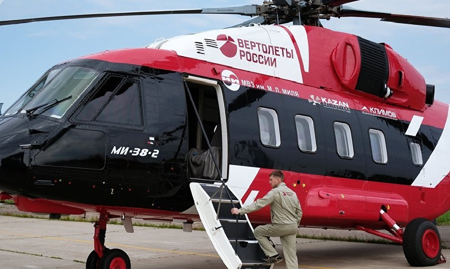 Çində ən son helikopterlər təqdim olundu