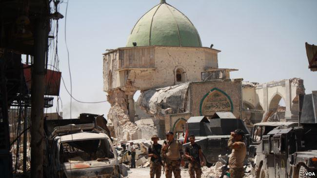 Mosulun müharibədən əvvəlki və sonrakı - Görüntüsü