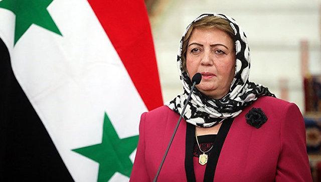 Спикер парламента Сирии ушла в отставку