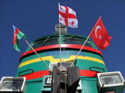 Баку-Тбилиси-Карс: тронулся первый поезд