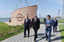 Ильхам Алиев в Пираллахы - Фото/Обновлено