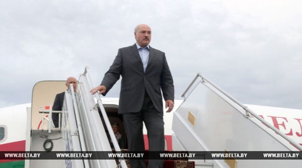 Lukashenko arrived in Azerbaijan