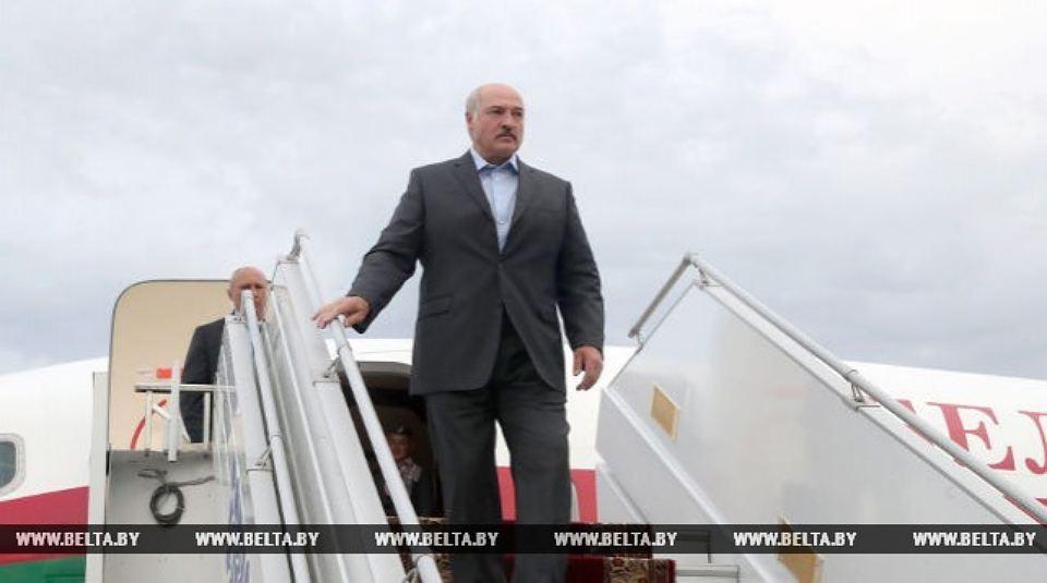 Лукашенко прибыл в Украину
